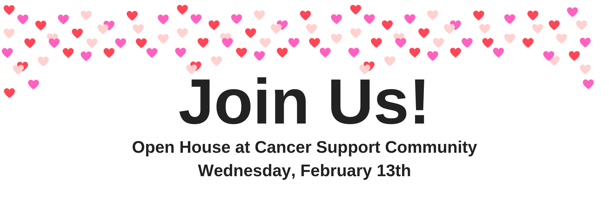 Stop by for cookies and cheer and let us celebrate your support!
